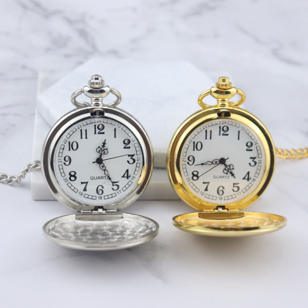 Silver Pocket Watch - Mygiavelle