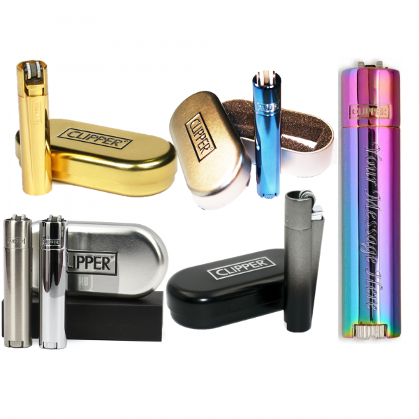 Clipper Metal Lighter – All Colours - Mygiavelle