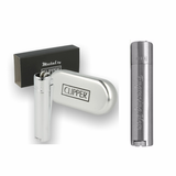 Clipper Metal Lighter -Brushed Steel Silver - Mygiavelle
