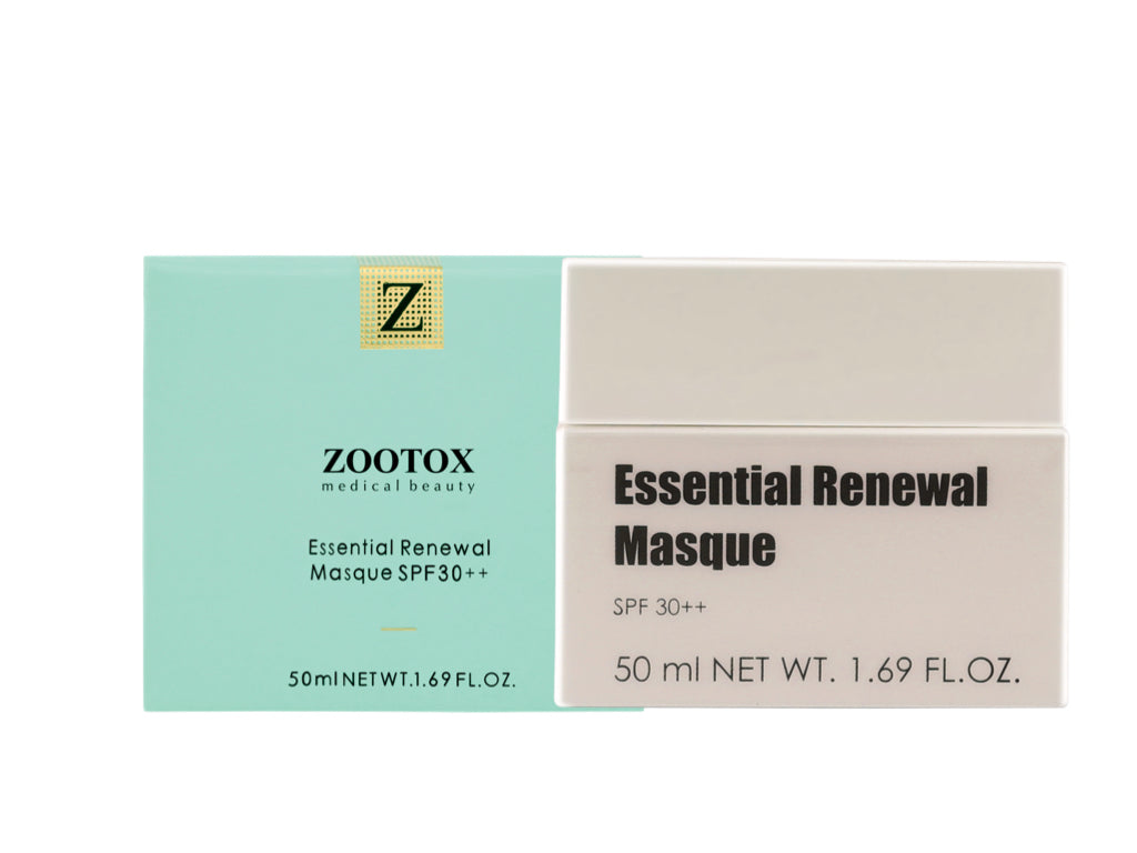 ZOOTOX Essential Renewal Masque – FDA Certified Skin Illuminating Day Cream with SPF 30++