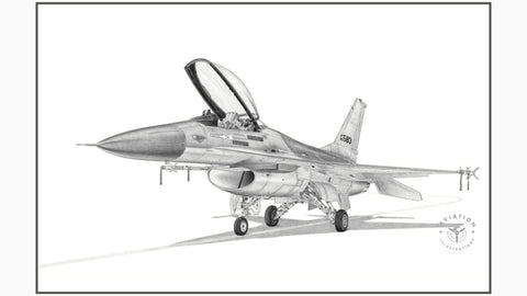 The General Dynamics F-16 Fighting Falcon is a multirole jet fighter developed for the U.S. Air Force. It was designed as a lightweight day fighter and has evolved into a successful all weather multirole aircraft.