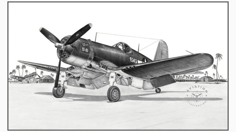 "The F4U Corsair was the first single seat fighter to exceed 400 MPH in 1940. Chance Vought's new design would go on to be the best Marine Corps fighter of the Second World War. Named the 'Bent Wing Bird' by the American Navy and Marines, the Japanese had another name for it ""Whistling Death', The US Navy proceeded with carrier trials as early as 1942."