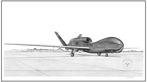 The Northrop Grumman RQ-4 Global Hawk is a high altitude, long endurance, remotely piloted aircraft. Its mission is to provide intelligence, surveillance and reconnaissance capabilities for the USAF.