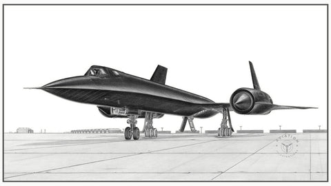 The Lockheed SR-71 is unquestionably the world's most recognizable airplane. It was a long-range, high-altitude strategic reconnaissance aircraft designed by the famed Kelly Johnson, head of the Lockheed Skunk Works division.