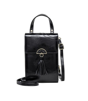 Vintage Tassel Design Multi-slots Phone Bag Crossbody Bag
