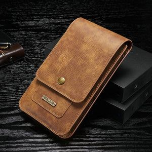 Rero Large Room Leather Phone Pocket Bag