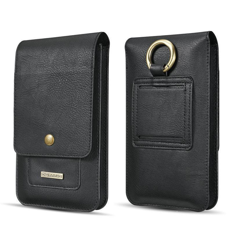 Retro Leather Large Room Phone Pocket Bag