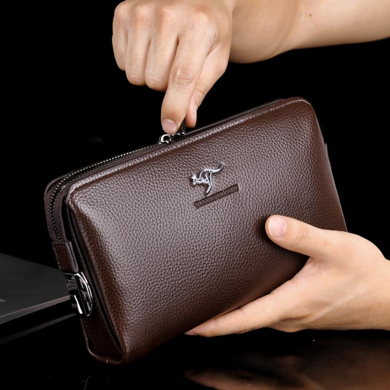 Men's Hand Business Bag with Security Lock