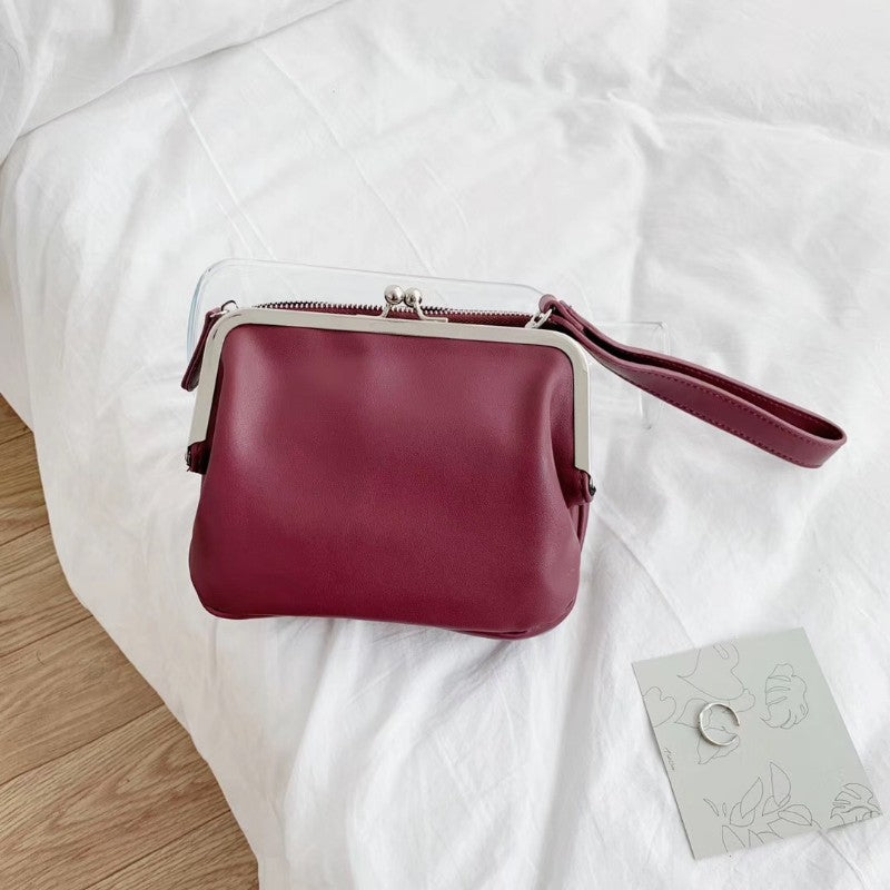Double-layer crossbody bag👛