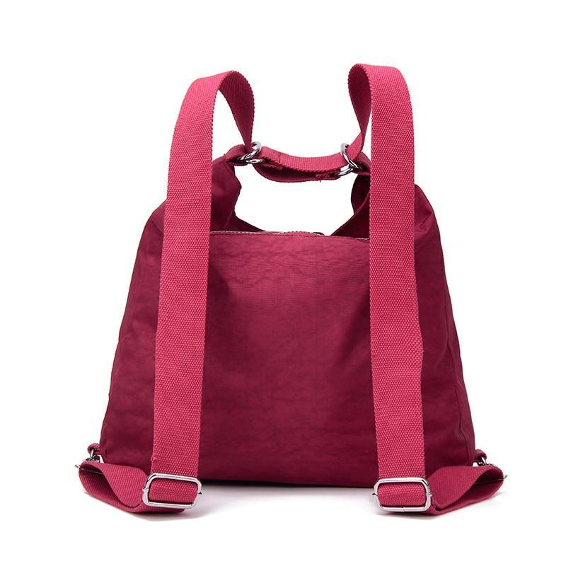 convertible backpack shoulder bag women