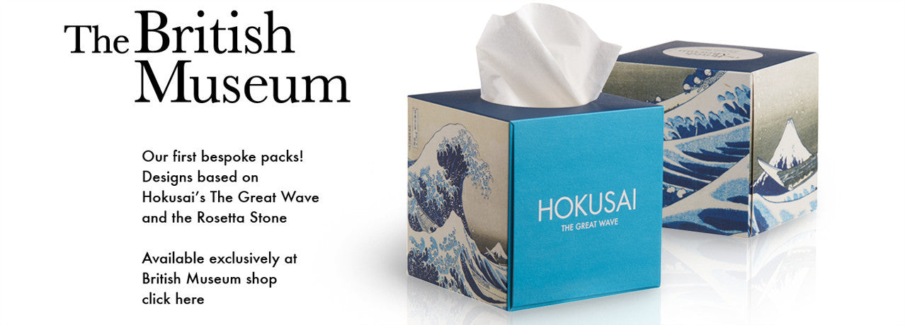 British Museum Hokusai Great Wave Rosetta Stone Tissues Atissu