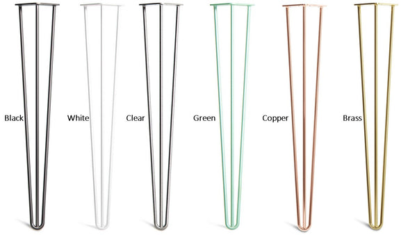 Hairpin legs colours