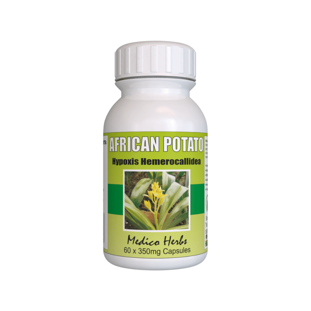 African Potato for Bladder, Urinary, Cystisis problems. Try our 100% Natural African Potato Capsules 2xBottles of 60x350mg