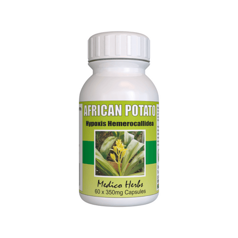 African Potato for Bladder, Urinary, Cystisis problems. Try our 100% Natural African Potato Capsules 60x350mg