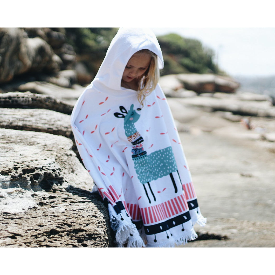 The Frankie - Mini Round Beach Poncho
