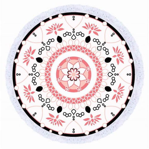 Avalon Round Beach Towel - Avalon 1