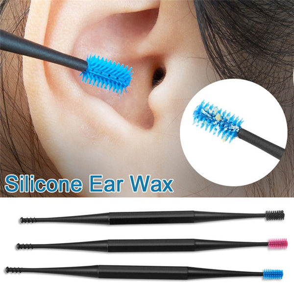 Soft Silicone Ear Wax Removal Tool 3/Pack - Lightupmyheart