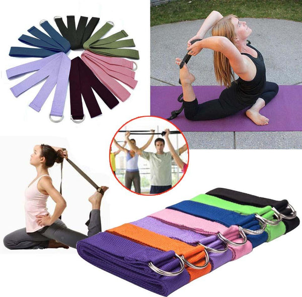 7 Colors Cotton Health & Beauty Fitness Pull Band Waist Belt - Lightupmyheart