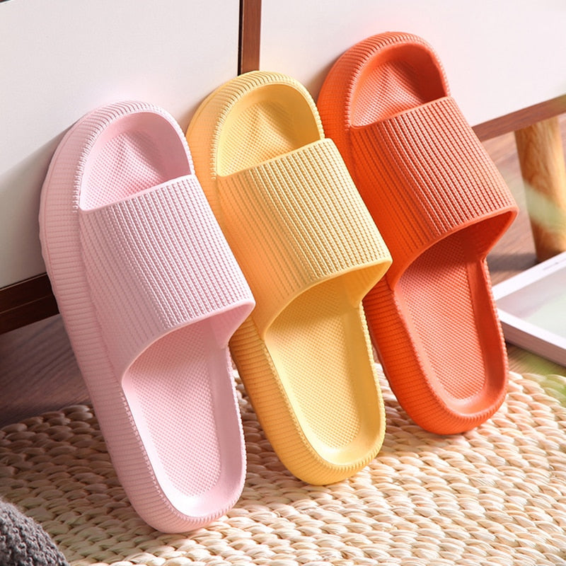 Smart Pressure-Relieving Super Soft Thick Sole Non-Slip Slipper Sandals - Lightupmyheart