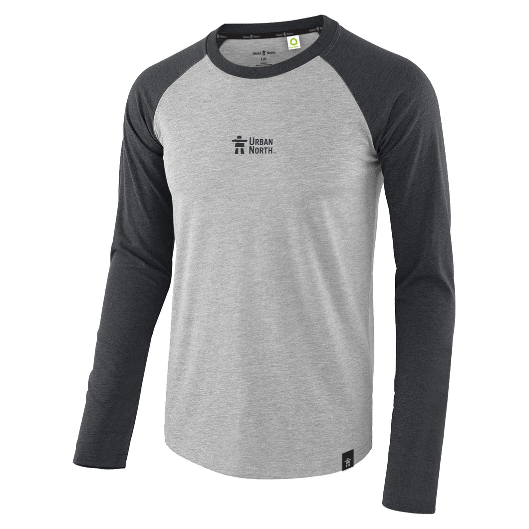 Eco-Soft™ Unisex T-Shirt Raglan Long Sleeve