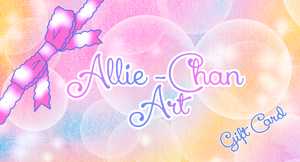 Allie-chan Art Gift Card