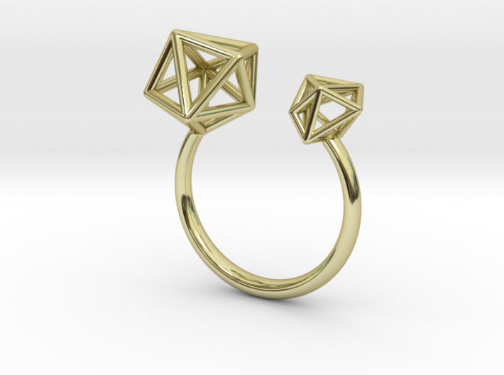 Double Tangle Ring