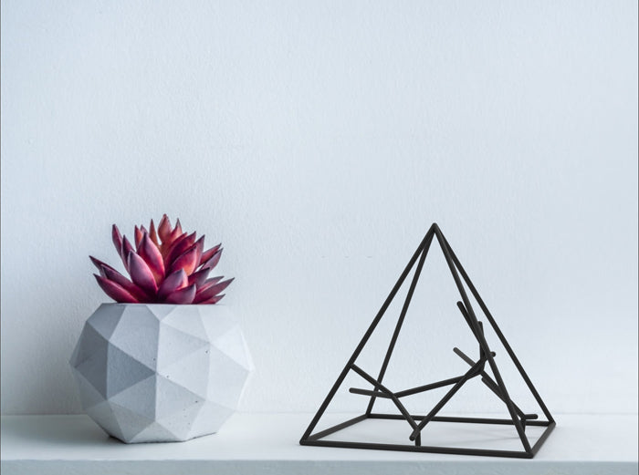 Naked Pyramid Sculpture