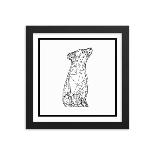 Polar Bear Framed Poster