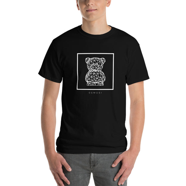 White Cute Bear T-Shirt - For Man