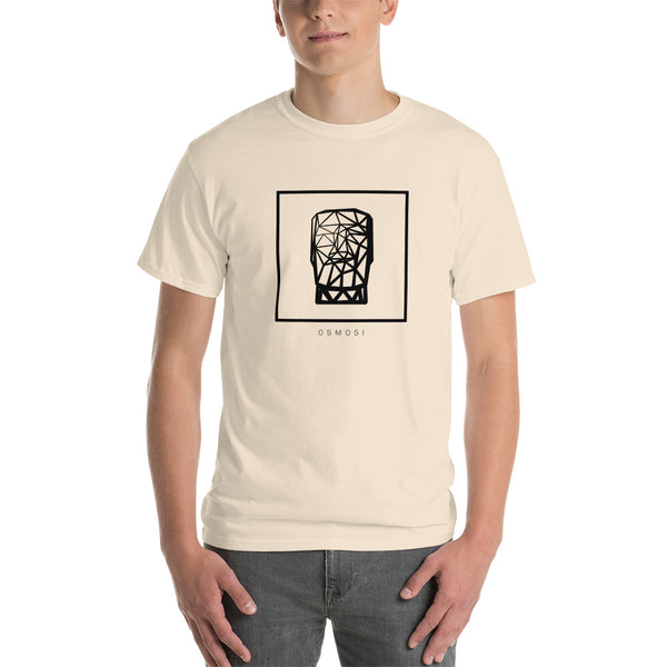 Black MOAI T-Shirt - For Man