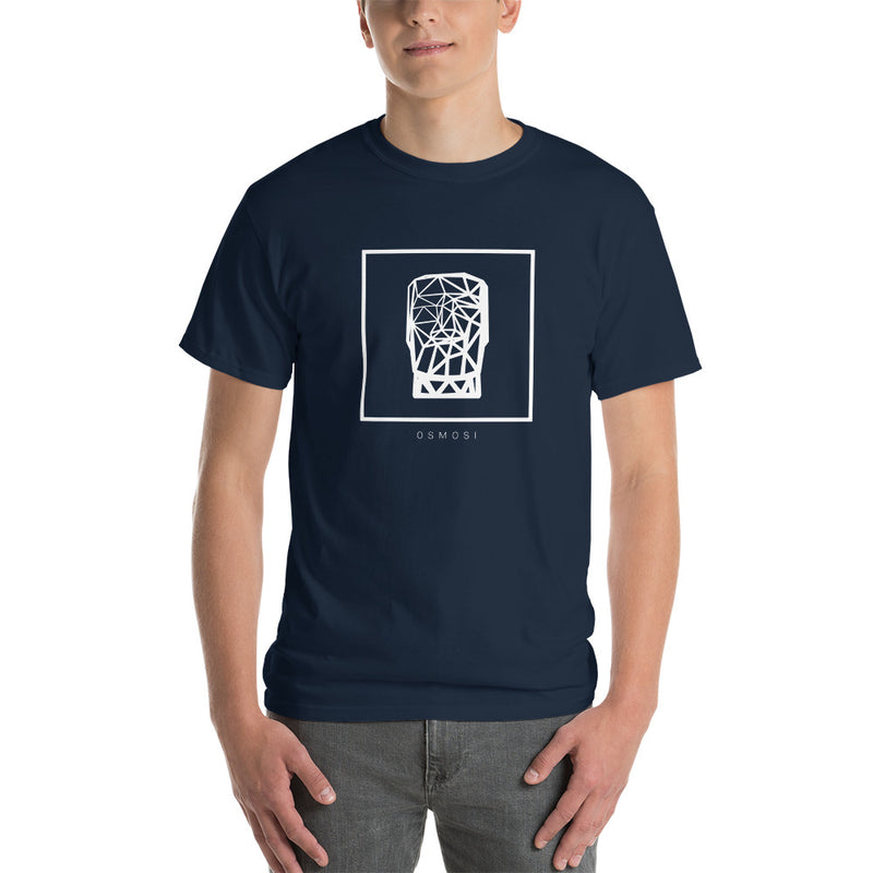 White MOAI T-Shirt - For Man