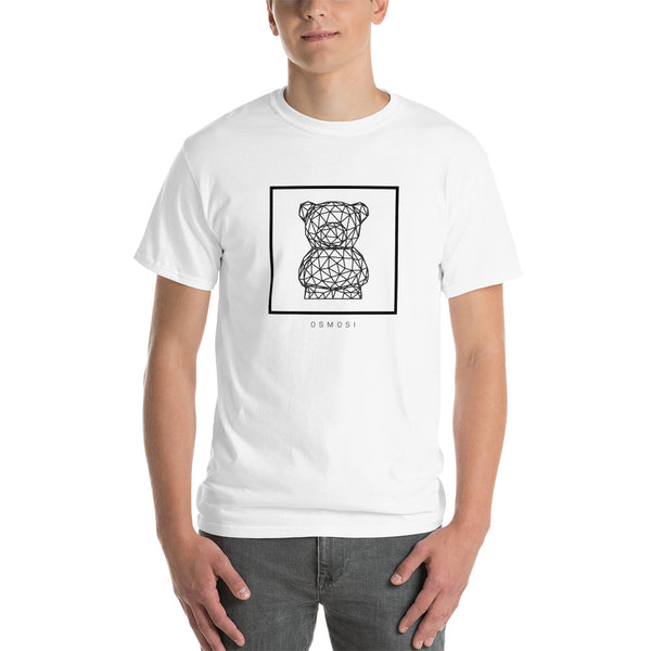 Black Cute Bear T-Shirt - For Man