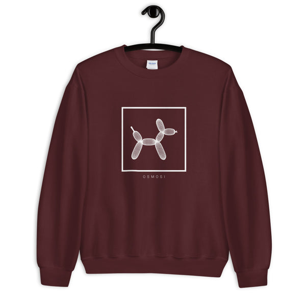 White Balloon Doggy Dogg Sweatshirt - Unisex