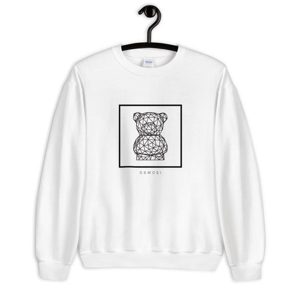 Black Cute Bear Sweatshirt - Unisex