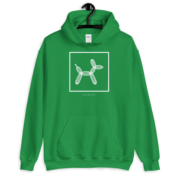White Balloon Doggy Dogg Hoodie - Unisex