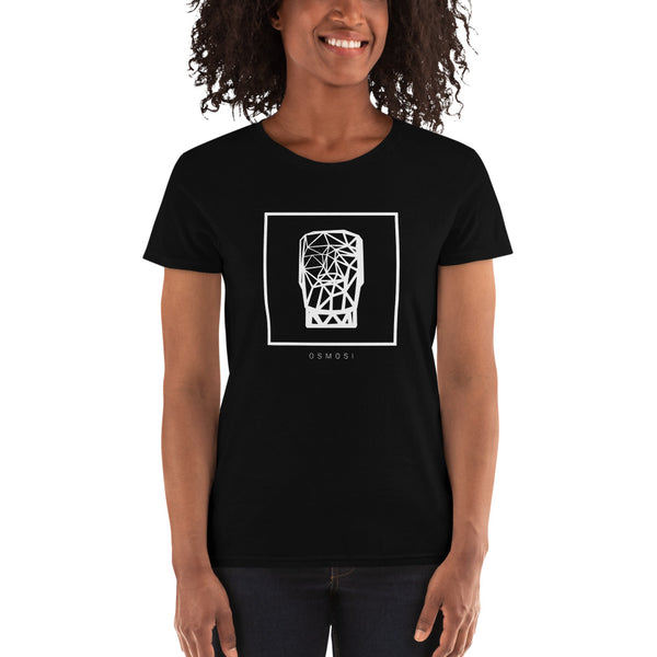 White MOAI T-Shirt - For Woman