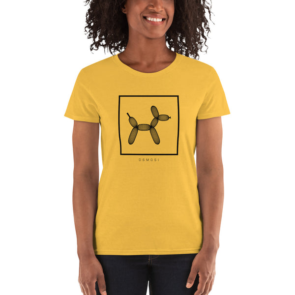 Black Balloon Doggy Dogg T-Shirt - For Woman