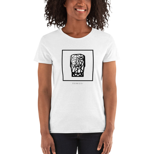 Black MOAI T-Shirt - For Woman