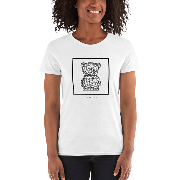 Black Cute Beat T-Shirt - For Woman