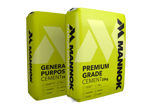 Premium Grade Cement in Plastic Bag 25kg