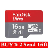 SanDisk Micro SD Memory Card (Multi Options Available) - Online Tronic