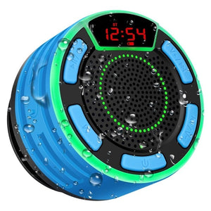 TWS Bluetooth Waterproof Speaker with Suction Cup - Online Tronic