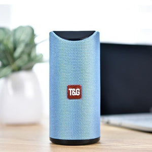 10W Mini Column Bluetooth Speaker with TF Card - Online Tronic