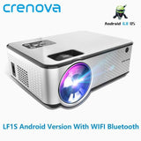 CRENOVA Android Projector 1280*720P Support 4K Videos - Online Tronic