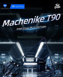 Machenike T90/T58 Gaming laptop i7 10750H GTX1650 Computer Laptops 16G RAM 512G SSD 1T HDD 15.6'' 6mm Border IPS Notebook - Online Tronic