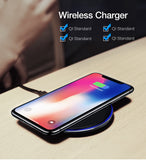 Wireless Charger For Samsung Galaxy and iPhone (Multi Options Available) - Online Tronic