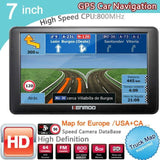 7 inch HD Car Navigator For Russia/Belarus  Europe/USA+Canada - Online Tronic