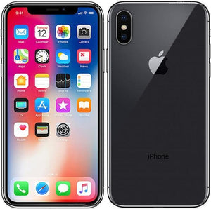 "Apple iPhone X 5.8"" IOS RAM 3GB ROM 64/256GB Face ID A11 Bionic 4G LTE Hexa Core 12MP Original Unlocked Smartphone Cell Phone - Online Tronic"