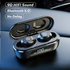 Mini  Wireless Headphones for iOS/Android - Online Tronic
