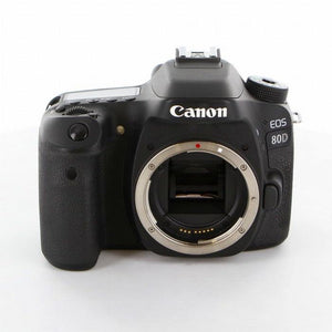 "New Canon 80D DSLR Camera -24.2MP -3.0"" Dot Vari-Angle Touchscreen -HD 1080p - Wi-Fi - Online Tronic"